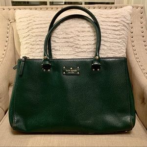 Green Kate Spade Handbag